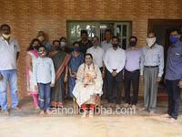 Mangaluru : Catholic Sabha felicitates Rank Holder Reshel Fernandes